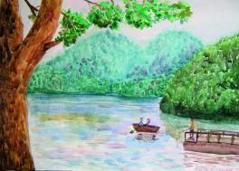 Загородное озеро