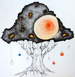 Серия: «Удивительные деревья», «Синяя лампочка»