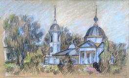 Сретенская Церковь. г. Переславль-Залесский