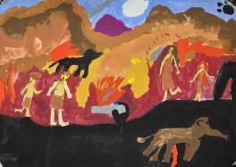 Жизнь доисторического племени