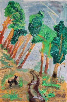 Дождь в с. Кармацкое