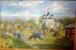 Белозерск - 1150 лет. Воскресное утро