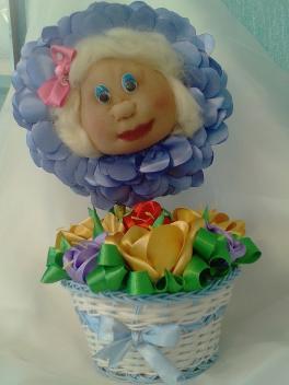 Моя бабуля-цветочек