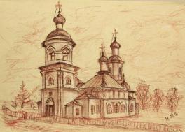 Церковь Покрова Пресвятой Богородицы в д. Устье
