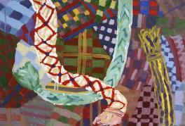Цвета литовских народных тканей . Абстракция