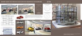Дизайн-проект выставочного пространства современных автомобилей