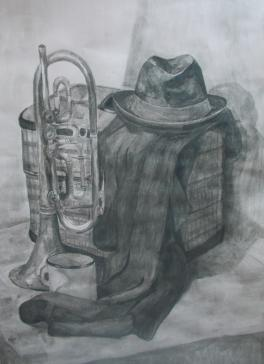 Натюрморт музыканта.