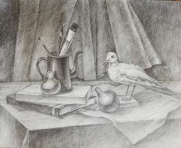 """""""Натюрморт с чайкой"""""""