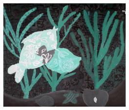 """""""Кишат в морской траве прозрачные мальки.Поймаешь....Растают без следа"""""""