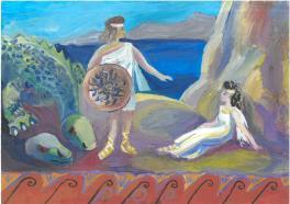 Персей и Андромеда. Древнегреческие  легенды.