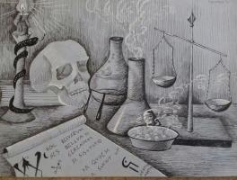 Натюрморт алхимика