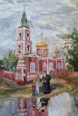 Барнаул 1913 г. Знаменский собор
