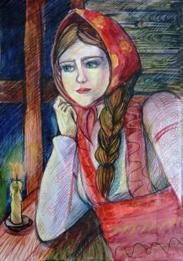 «Портрет крестьянской девочки»