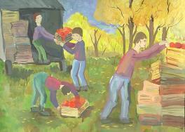 Осенний рынок