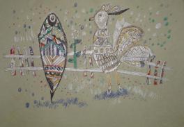 «Золотой петушок», паст. б., гелиевые ручки