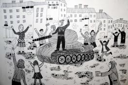 «Освобождение Харькова войсками красной армии»