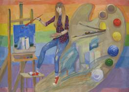 Я рисую Барнаул...