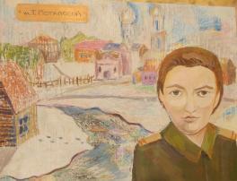 """Из серии """"Их именами названы улицы нашего города"""" ул.Т.Потаповой"""