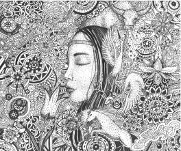 Мой край. Триптих.1 - Сон. 2 - Бабушкины сказки. 3 - Девушка-цветок.