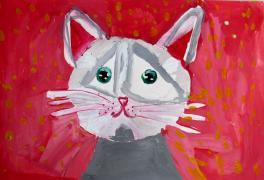 Портрет моего котенка