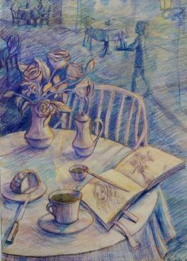 Кафейные зарисовки :)