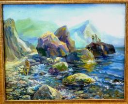 Камни Крымского берега