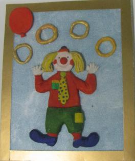 """Клоун-жонглер"""