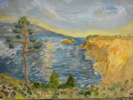 Живописные берега Байкала