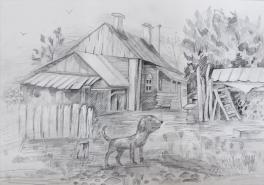 Любимый домик в деревне