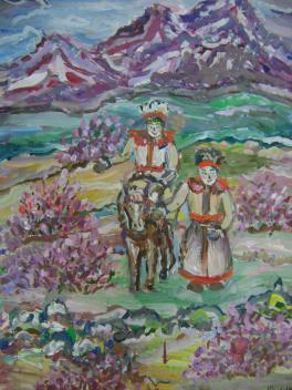 Весна в горах Алтая