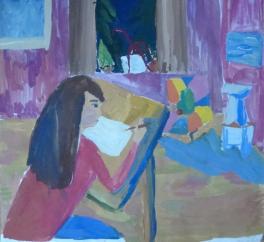 В художественной школе