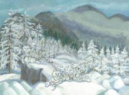 Зима в Уссурийской тайге