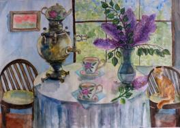 """Таварчий Мария, """"Цветочный чай""""."""