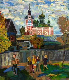 Пленэр в Переславле-Залесском
