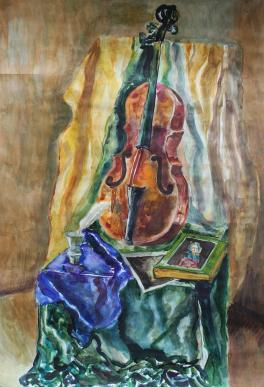 Натюрморт с виолончелью