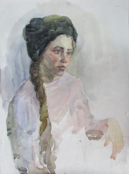Портрет девушки в чалме