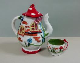 Чайник и чашка «В гостях у лесника»
