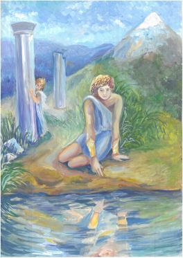 Нарцисс и Эхо.