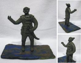Герой гражданской войны В.И. Чапаев