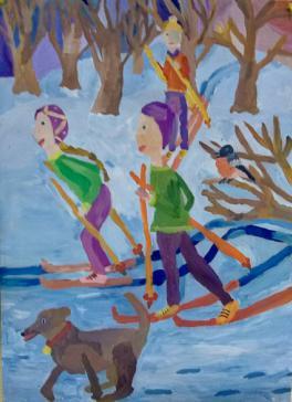 «Все вместе на лыжах»