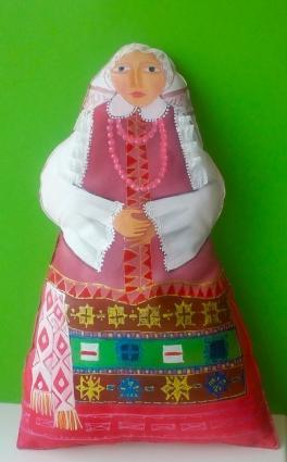 Литовская девушка. Kукла