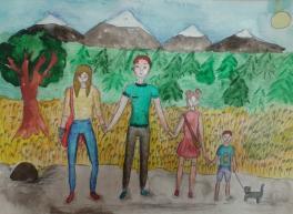 провождение свободного времени с семьёй