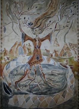 «Рананейда — саамская богиня весны и плодородия»