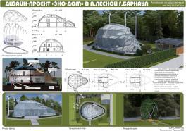 """Дизайн-проект """"Эко-дом"""" в п. Лесной г. Барнаул"""