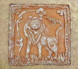 Панно «Лев»