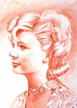 Портрет бабушки в молодости