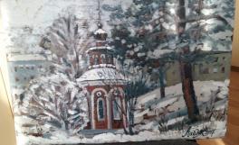 Мой город. Часовня на ул. Горького