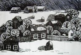 Родная деревня