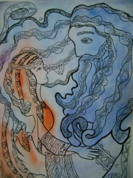 Славянские боги Небо и Мать-Сыра-Земля