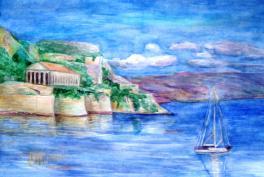 У берегов Греции